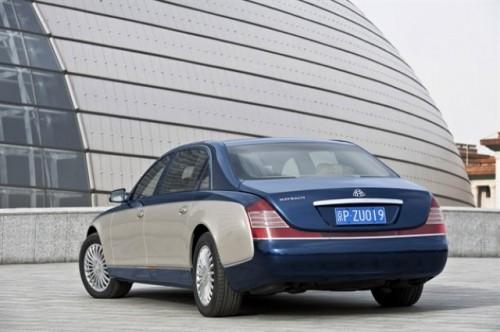 Maybach prezinta versiunile facelift ale modelelor 57 si 6223930