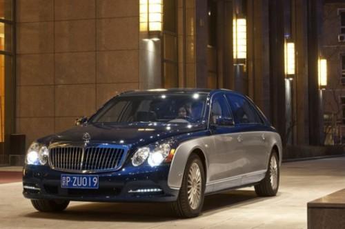 Maybach prezinta versiunile facelift ale modelelor 57 si 6223932