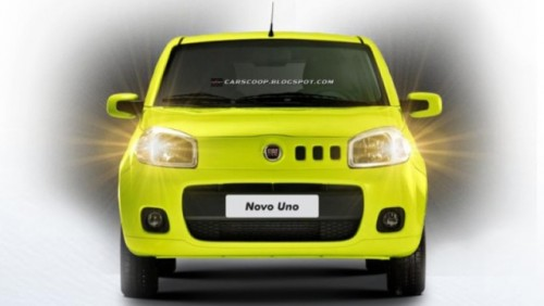 Iata noul Fiat Uno!23893
