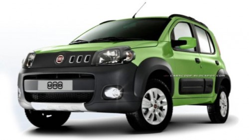 Iata noul Fiat Uno!23895