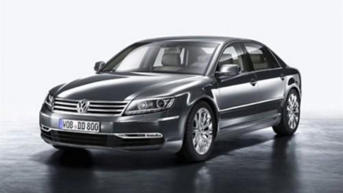 Primele imagini cu noul Volkswagen Phaeton!23887