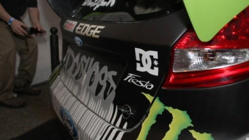 Ken Block si-a prezentat noul Fiesta de 650 CP23821