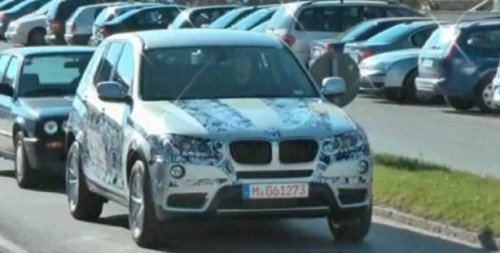 VIDEO: BMW X3 spionat23804