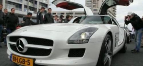 VIDEO: Cum se aude motorul lui Mercedes SLS AMG23467
