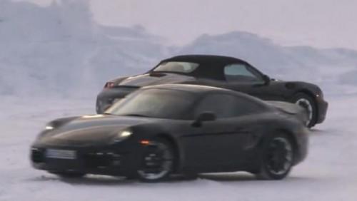 VIDEO: Noul Porsche Boxter roadster a fost spionat23373
