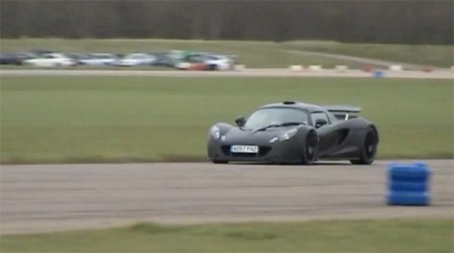VIDEO: Hennessey Venom GT a fost testat pe circuit23348