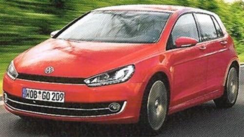 ZVON: Volkswagen pregateste noul Golf 7 pentru 201223309