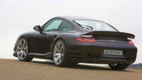 Porsche 911 Turbo tunat de Sportec23300