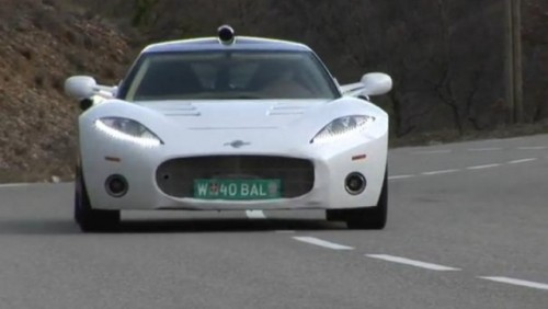 VIDEO: Spyker 8C Aileron in actiune23229