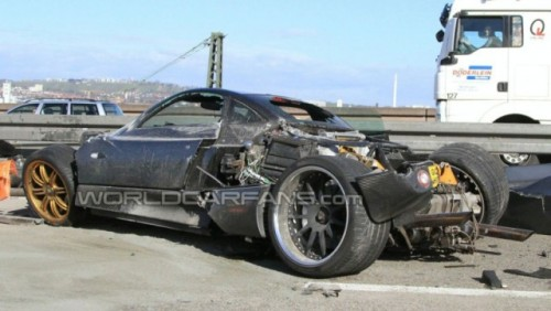 Prototipul Pagani C9 a fost distrus in Germania23094