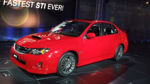Subaru a prezentat la New York noul Subaru Impreza WRX23082