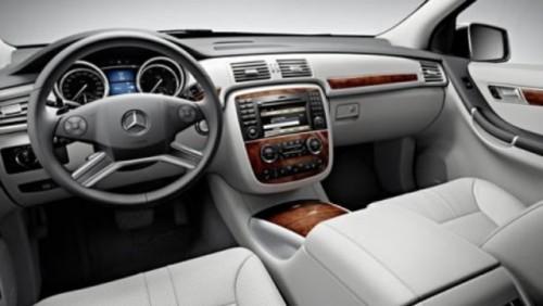 Primele imagini ale noului Mercedes R Klasse22822