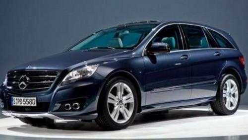 Primele imagini ale noului Mercedes R Klasse22827