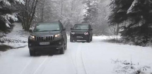 VIDEO: Infruntarea greilor din off-road: Discovery vs Land Cruiser22791