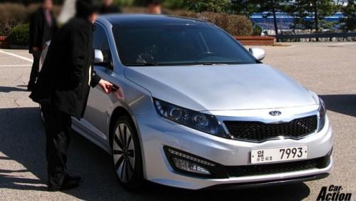 Imagini noi ale modelului Kia Magentis22743