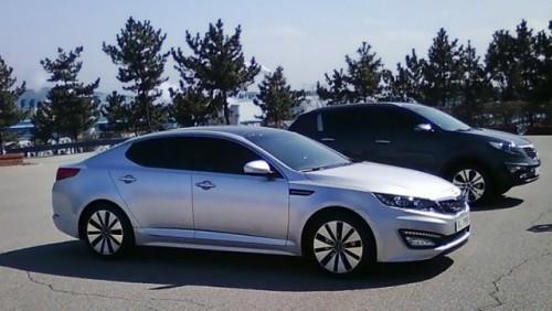 Imagini noi ale modelului Kia Magentis22744