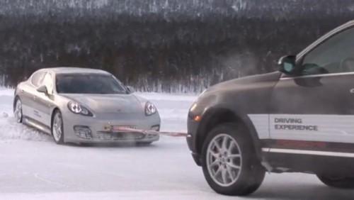 VIDEO: Porsche Panamera pe gheata22504