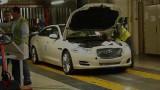 VIDEO: Linia de productie a modelului Jaguar XJ22503