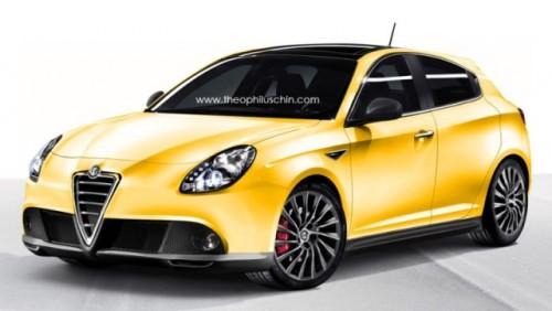 Alfa Romeo pregateste o versiune Giulietta GTA22501