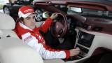 Fernando Alonso a primit un Maseratio GranCabrio22500