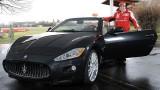 Fernando Alonso a primit un Maseratio GranCabrio22499
