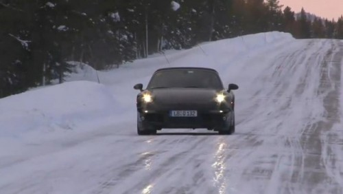 VIDEO: Noul Porsche 911 spionat in Suedia22215