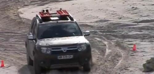VIDEO: Dacia Duster se antreneaza pentru Raliul Gazelelor22138