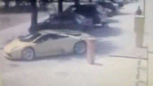 VIDEO: Cum sa parchezi pe gratis un Lamborghini Murcielago22078
