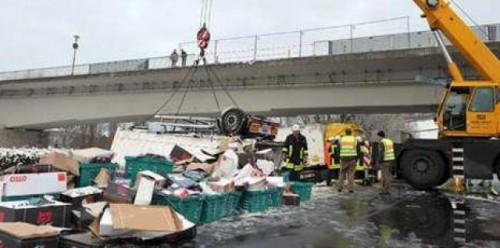 Accident rutier cu 200 de masini implicate21983