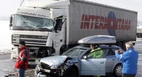 Accident rutier cu 200 de masini implicate21986