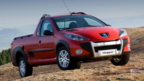 Peugeot Hoggar, pick-up pentru Brazilia21919