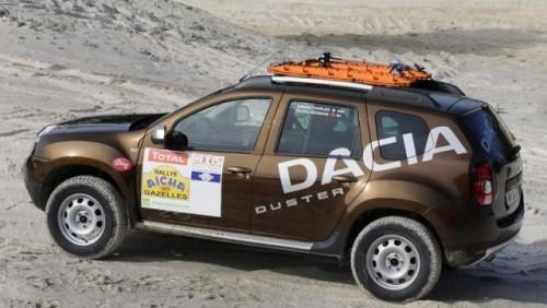 Dacia Duster va participa intr-un raliul in Sahara21730