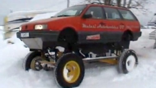 VIDEO: Volkswagen Passat 4x4 extrem21724