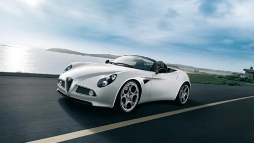 Alfa 8C Spider vine in Romania21599