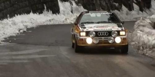 VIDEO: Walther Rohrl conduce un Audi Quattro in Raliul Monte Carlo21556