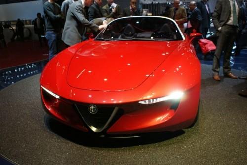 Geneva LIVE: Pininfarina 2uettottanta, concept pentru Alfa Romeo 15921046