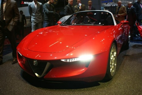 Geneva LIVE: Pininfarina 2uettottanta, concept pentru Alfa Romeo 15921047