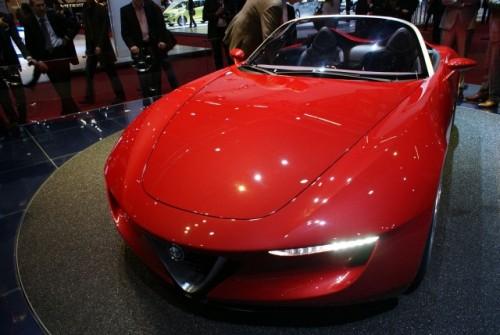 Geneva LIVE: Pininfarina 2uettottanta, concept pentru Alfa Romeo 15921070