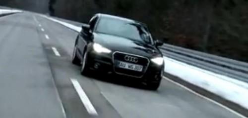 VIDEO: Primul drive-test cu Audi A120814