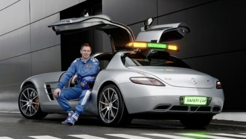 Mercedes SLS AMG va fi noul Safety Car din Formula 120717