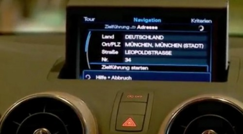 VIDEO: Sistemul Infotainment de pe noul Audi A120626