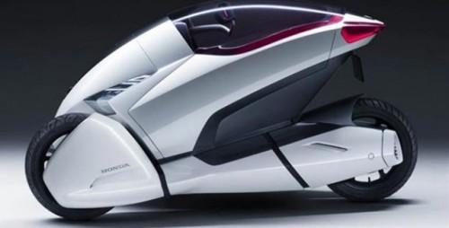 Honda 3R-C, concept electric pe 3 roti la Geneva20538