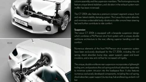 FOTO: Brosura noului Lexus CT-200h20512