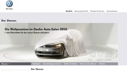 Primul teaser cu Volkswagen Sharan20415