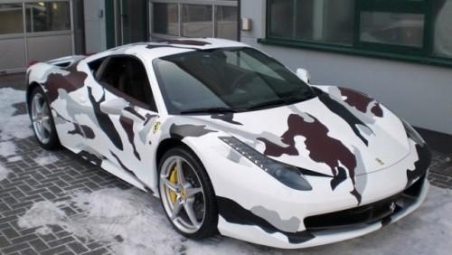 Ferrari 458 Italia camuflat20063