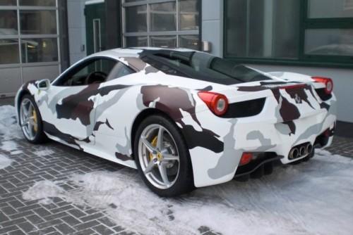 Ferrari 458 Italia camuflat20067