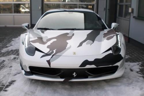 Ferrari 458 Italia camuflat20074