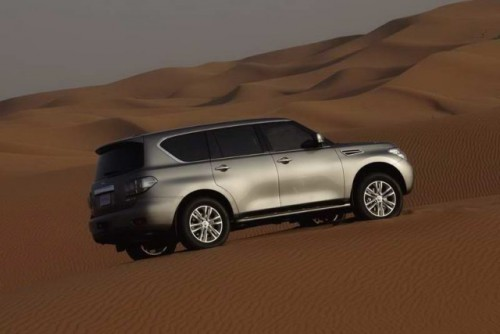 VIDEO: Noul Nissan Patrol20054