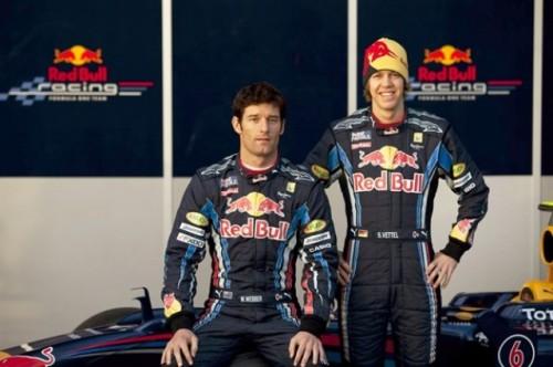 Noul monopost Red Bull de Formula 119801