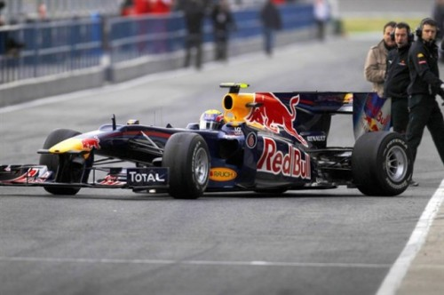 Noul monopost Red Bull de Formula 119802